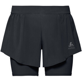 Odlo Zeroweight Ceramicool PRO 2 in 1 Shorts Dames, black